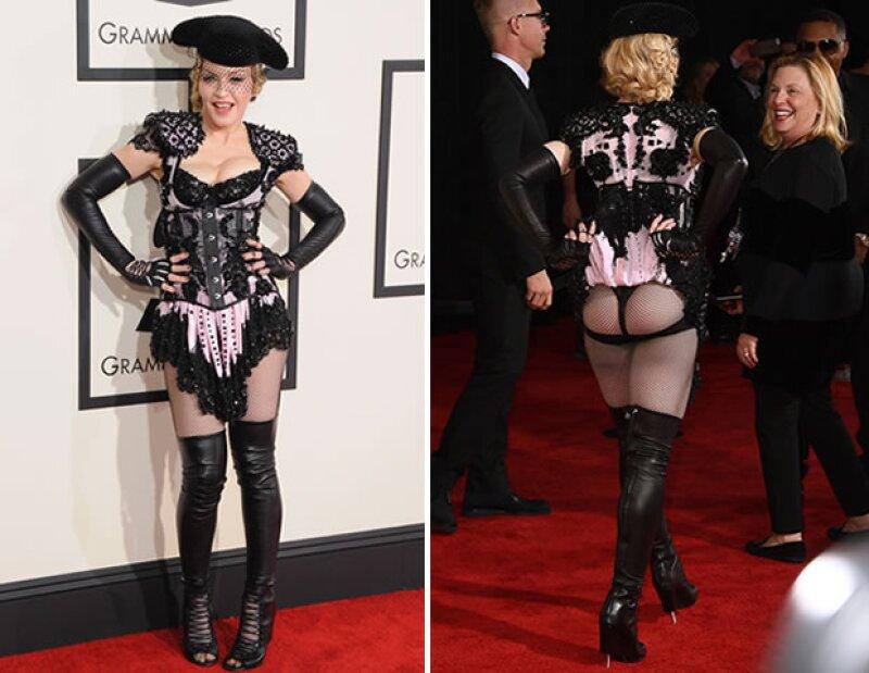 Madonna en los Grammy 2015.
