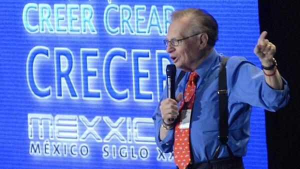 La emisión concluirá a finales de 2010 y en ella el periodista entrevistará al empresario mexicano considerado e hombre más rico del mundo.