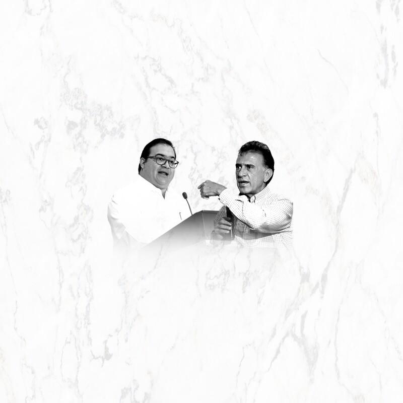 El gobernador de Veracruz y quien será su sucesor vivieron una serie de acusaciones.