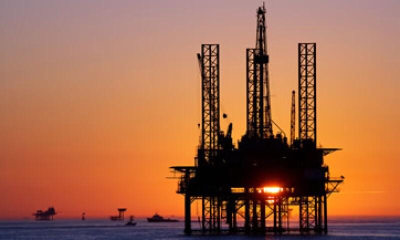 Una de las plataformas petroleras ubicadas en el Golfo de México (Foto: Getty Images/Archivo )