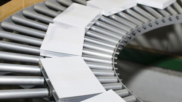 Fábrica de productos de papel