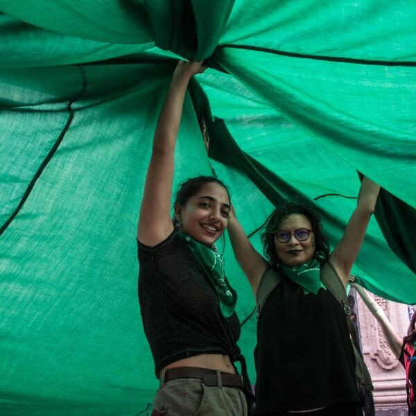 marea verde aborto