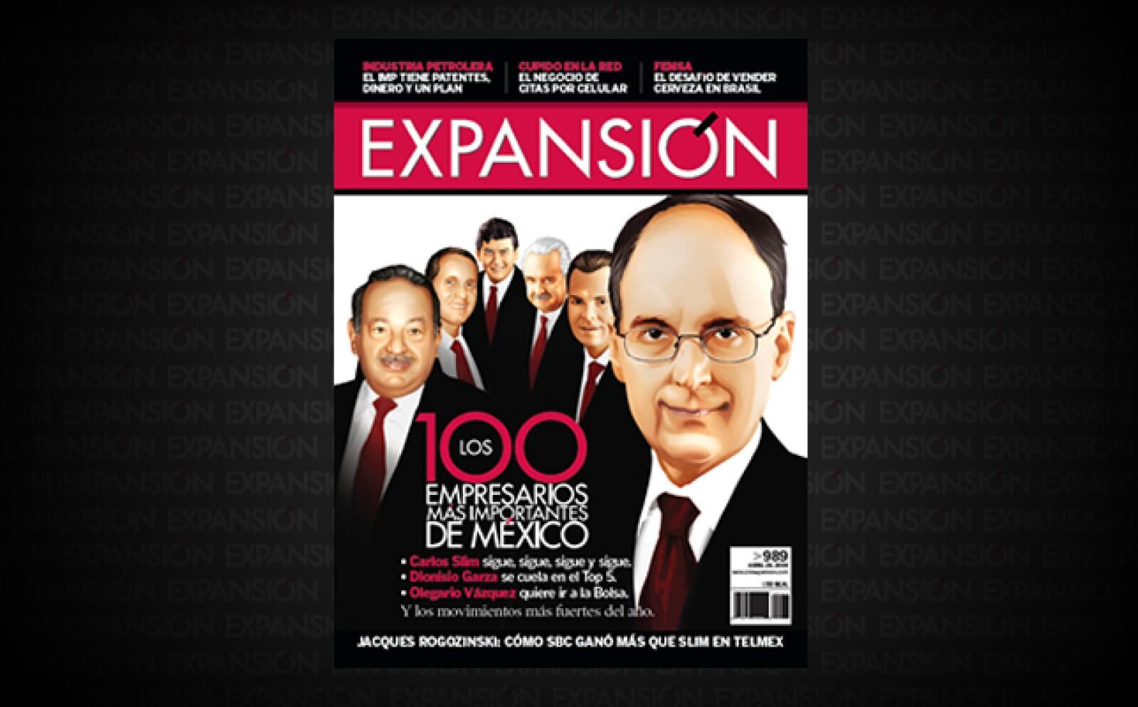 En 2007, Axtel se consolidó como la segunda telefónica de México. Tomás Milmo Santos tiene el lugar 18 del listado este año.