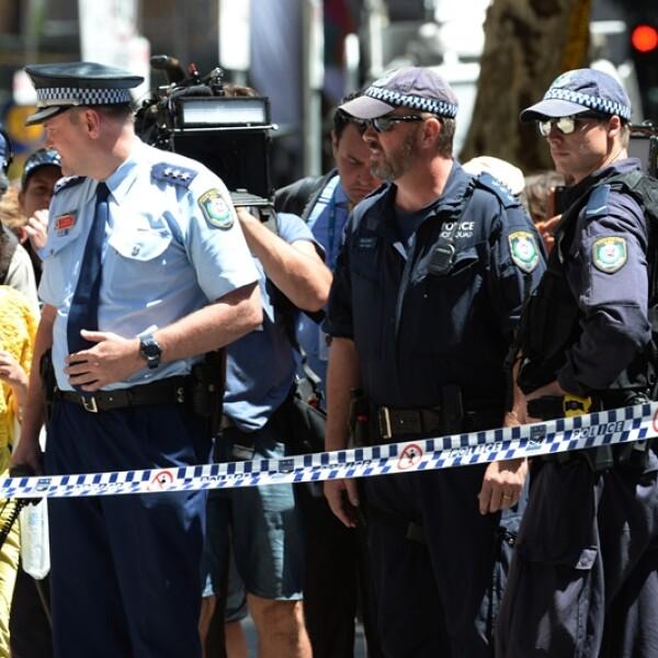 rehenes Sydney operación 1