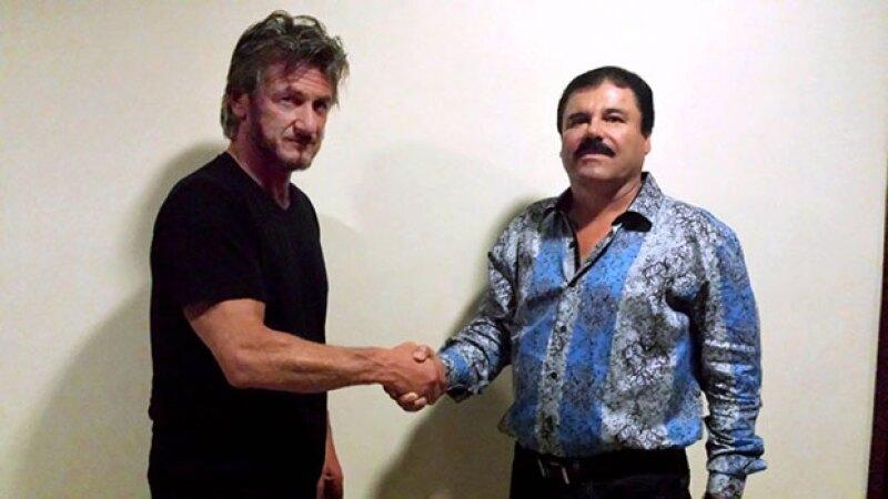 El actor admitió no saber por qué el narcotraficante mexicano aceptó reunirse con él.