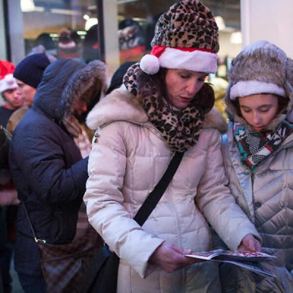 Los minoristas obtienen casi la mitad de sus ganancias anuales durante las fiestas de fin de año.
