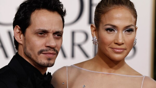 Marc Anthony y Jennifer Lopez.