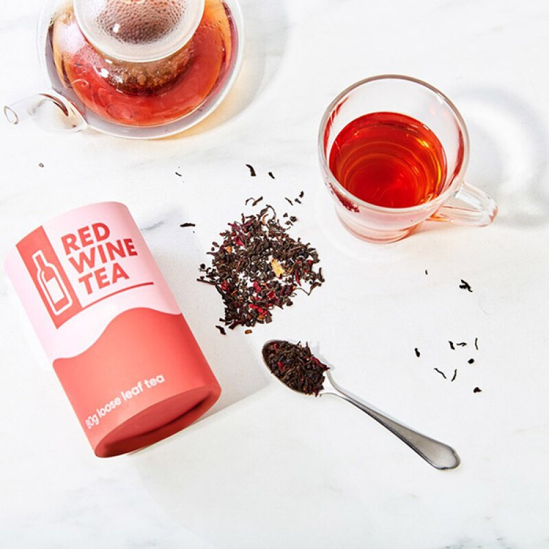 Red Wine Loose Leaf Tea