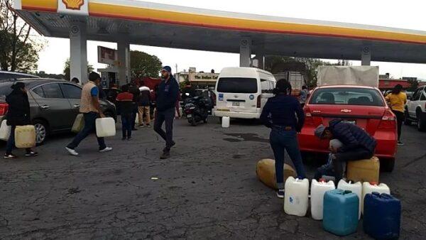 Gasolina en Puebla
