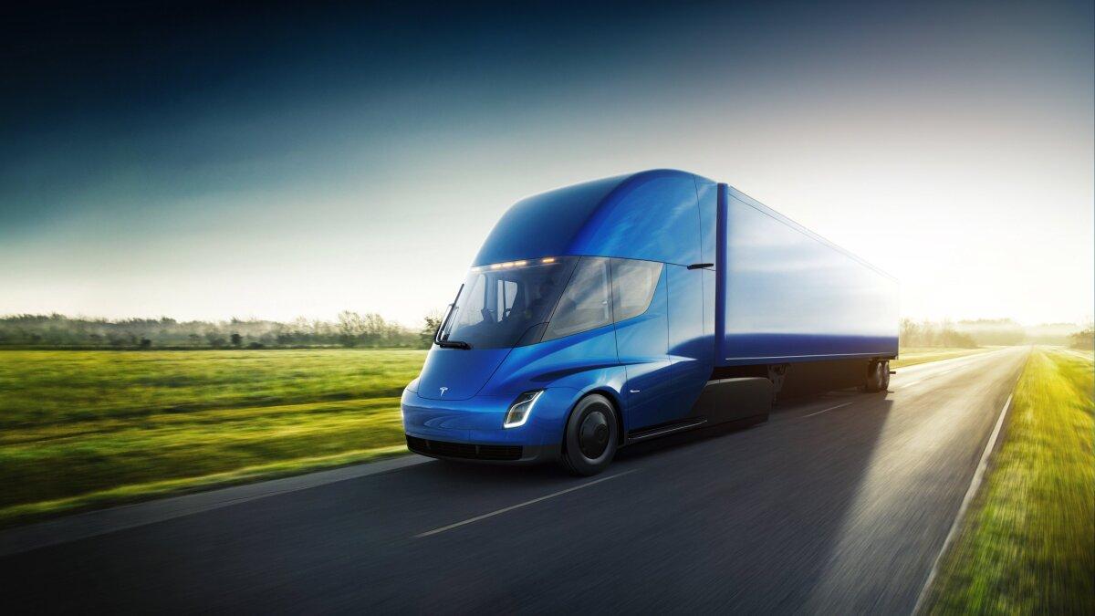 Tesla recibe el pedido de camiones más grande a la fecha