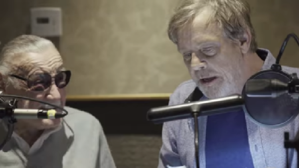 Stan Lee y Mark Hamill