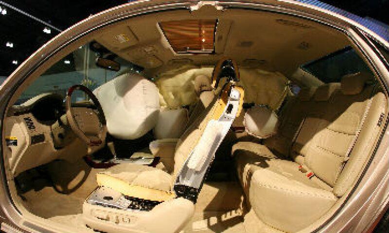 bolsas de aire o airbags