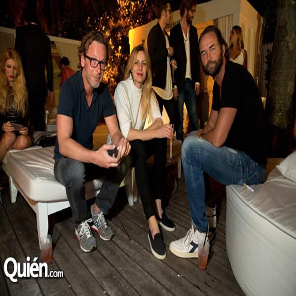 Robert Schober, Xandra Linsin y Johannes Seidel