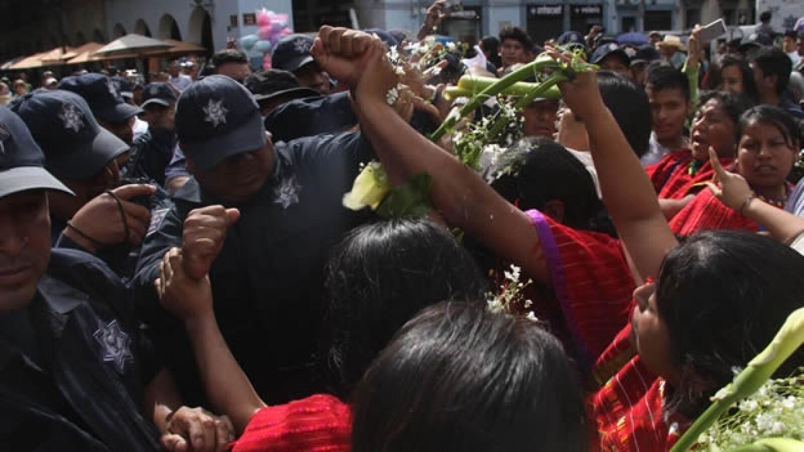 triquis policía Oaxaca 1