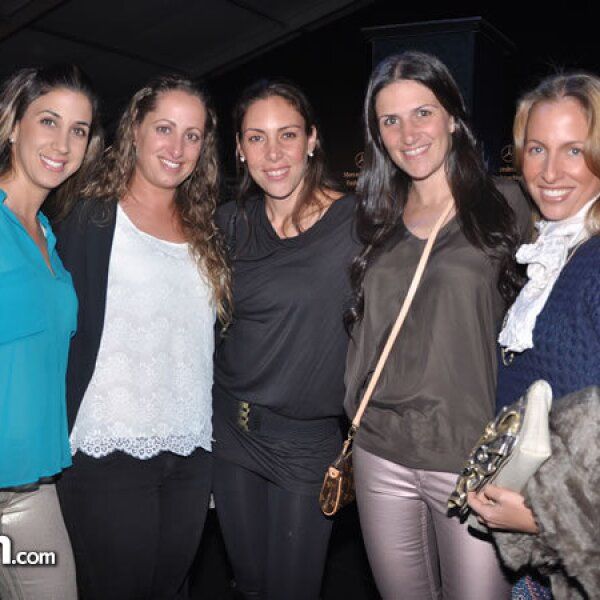 Lisa Sefami, Dalia Samuel, Wendy Azulay, Erika Udinsky y Dalia Aliphas