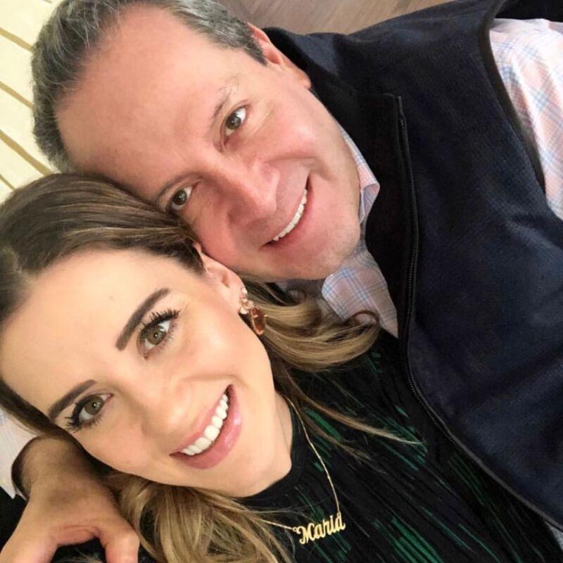 Primer mes del hijo de Eruviel Ávila y María Irene Dipp 1.jpg