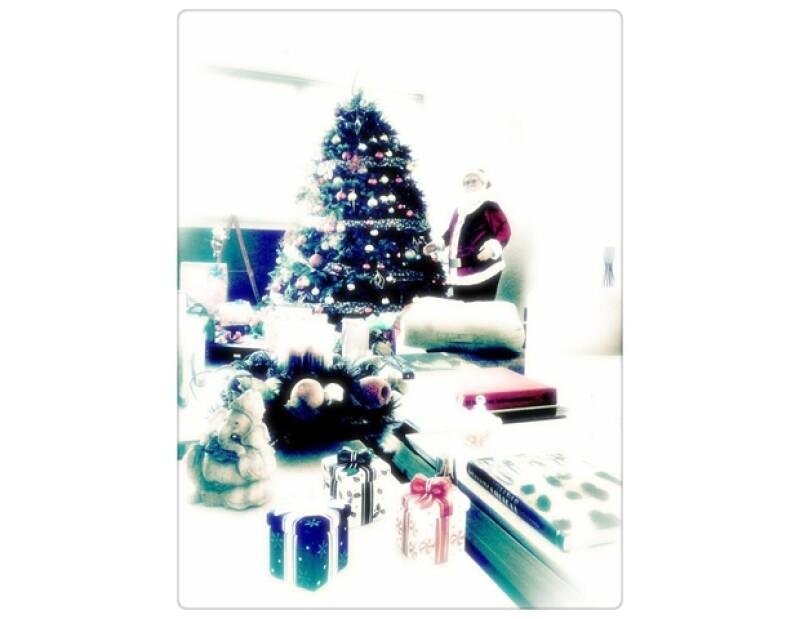 """Kate del Castillo subió una foto con """"el amor de su vida"""", mientras que otros famosos compartieron fotos de sus decoraciones navideñas."""