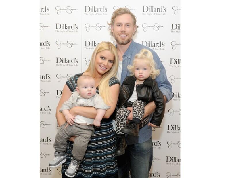 Jessica y Eric tienen dos hijos: Maxwell y Ace.