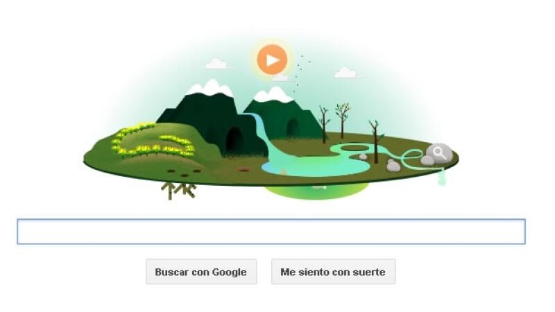 dia de la tierra, google