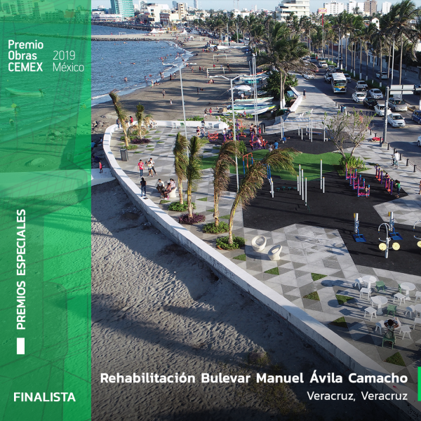 Rehabilitación Bulevar Manuel Ávila Camacho.