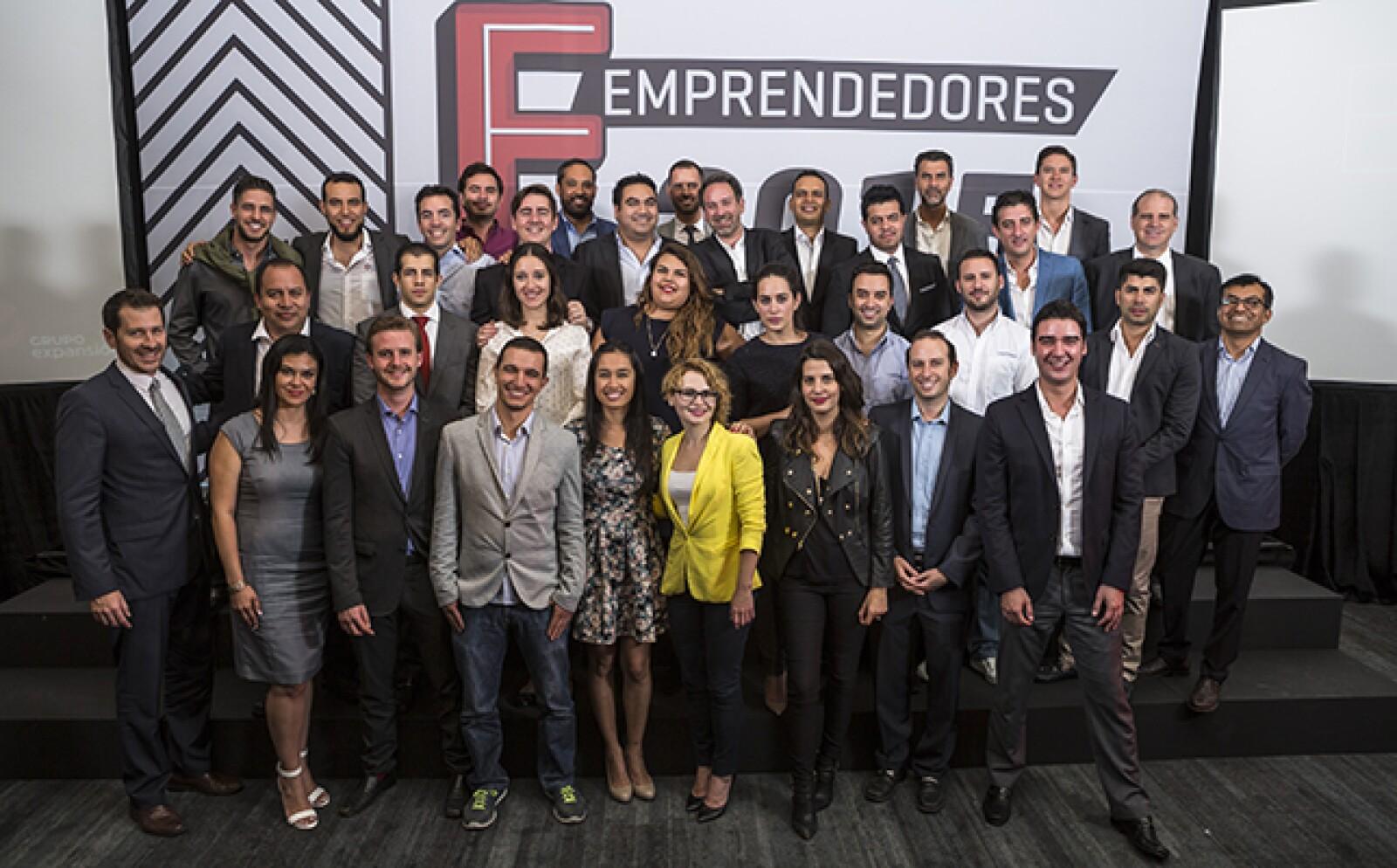 El pasado 21 de mayo se dio a conocer la generación 2015 de 'Los Emprendedores del Año', el esfuerzo anual de Expansión por impulsar nuevas empresas en México. Sus historias de negocio serán desplegadas en la revista y en CNNExpansión.
