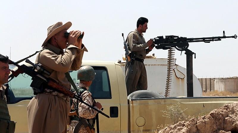 Kurdos militantes ISIS