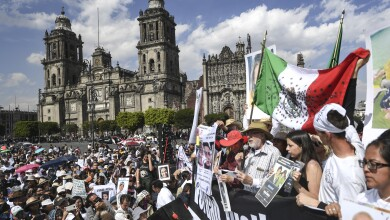 MEXICO-CRIME-VIOLENCE-PROTEST-MARCH