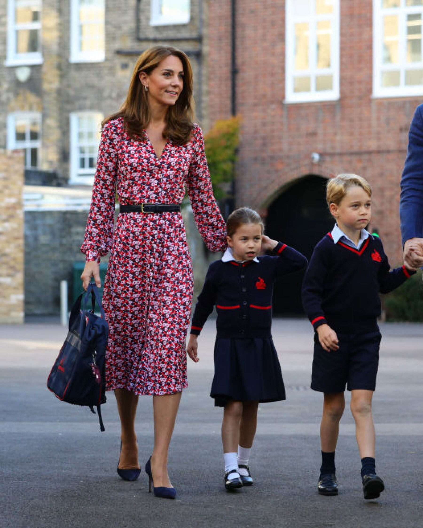 Kate Middleton, princesa Charlotte y el príncipe George