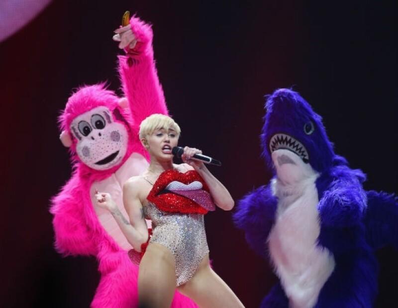 Miley ya se ha presentado en México con mucho éxito.