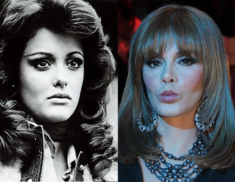 Lucía Méndez se ha hecho algunas modificaciones en su imagen, sin embargo, ha tratado de conservar su clásico estilo.