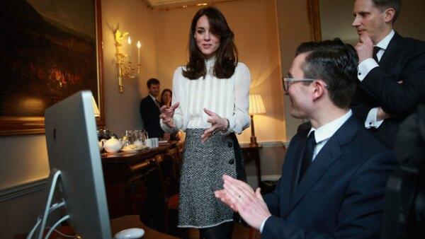 La duquesa de Cambridge estuvo por un día al frente de la redacción de The Huffington Post UK, donde se encargó del contenido sobre la salud mental de los niños.