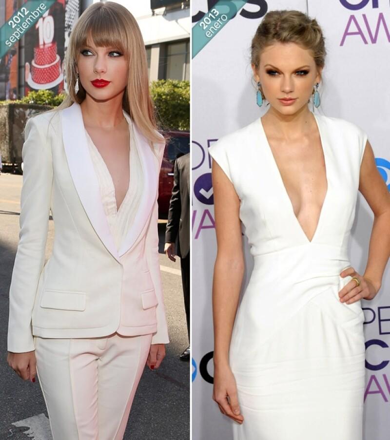 Taylor Swift tiene 23 años.