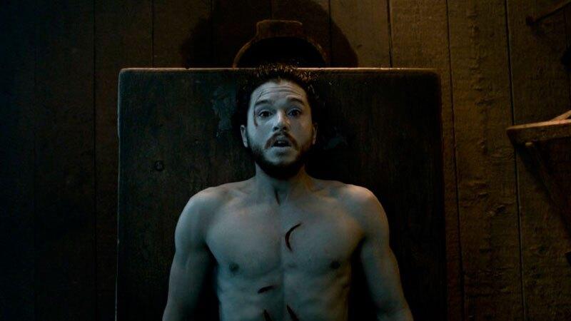 Kit Harington como 'Jon Snow'