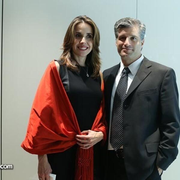 Rocío Palafox y Juan Carlos Barreiro