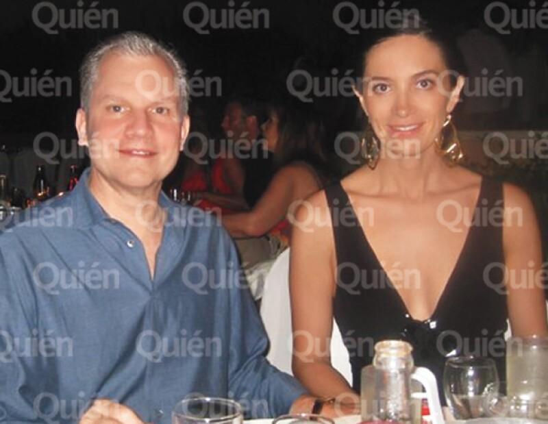 Arthur Sulzberger Jr. y Claudia González Romo pasan las fiestas más importantentes en México.