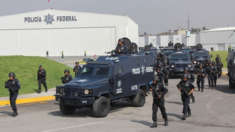 policia federal desfile