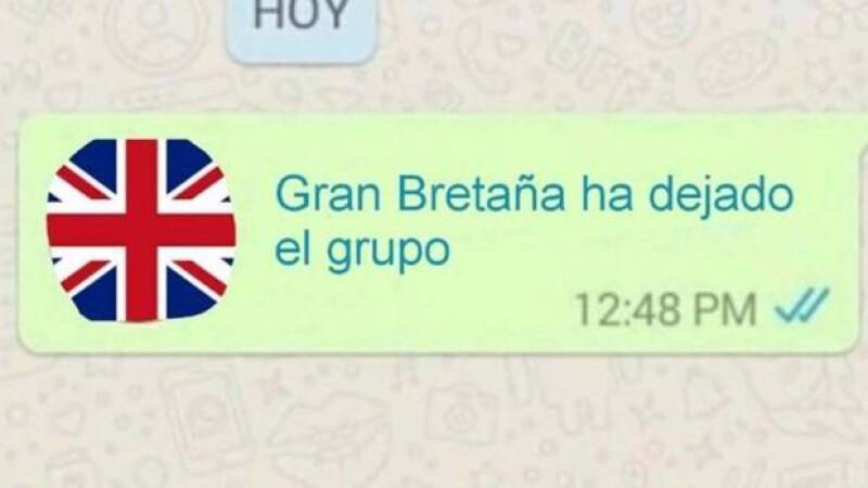 Los usuarios de redes sociales reaccionaron con humor, luego de que se diera a conocer que el Reino Unido deja de ser miembro de la Unión Europea.