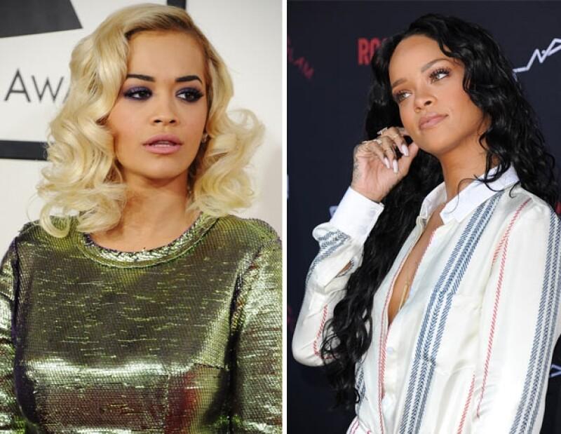 """De acuerdo con el diario """"The Sun"""", Riri evitó a Rita en la fiesta de Jay Z, aunque estuvo platicando con el novio de la inglesa, Calvin Harris."""