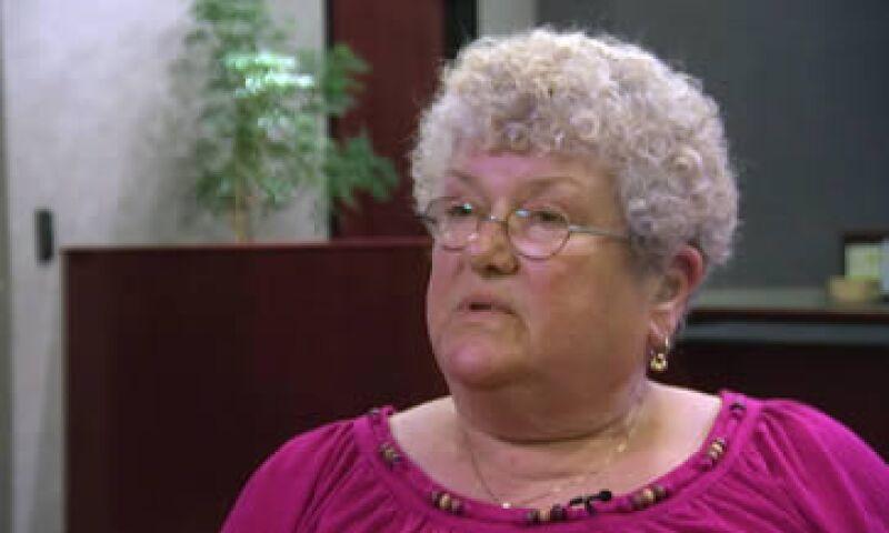 Un desconocido filmó cuando la señora Klein es insultada por los alumnos. (Foto: AP)