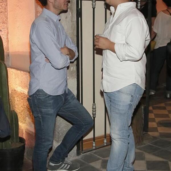 Antonio Vilches y Erik Lozano