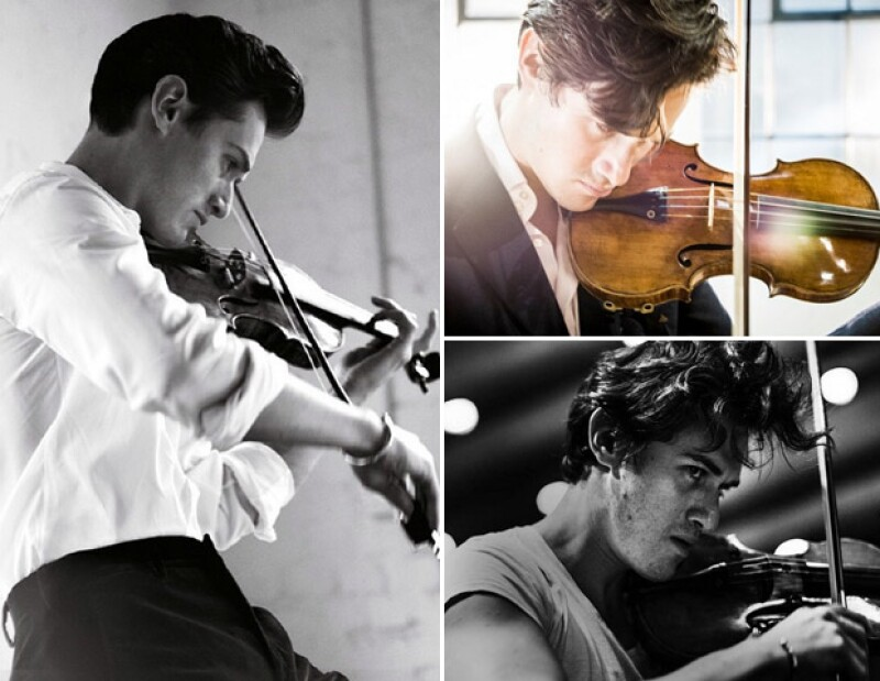 Amigo de las celebs, amante de las fotos shirtless y todo un top model... Nos metímos al Instagram de Charlie Siem el violinista del momento para conocerlo un poco más.