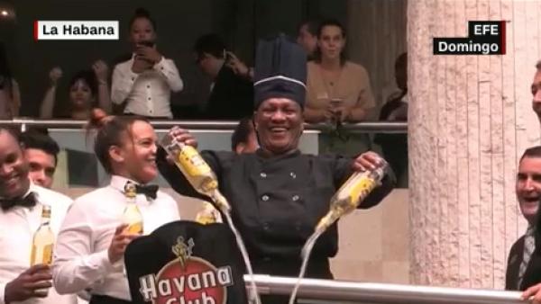 Así se vio el coctel 'Cuba Libre' más grande del mundo