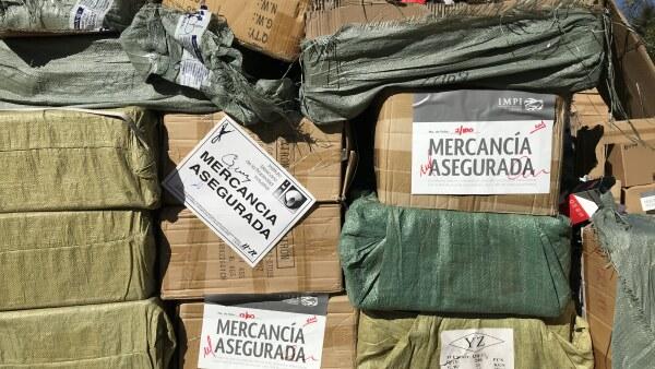 Piratería México destrucción IMPI