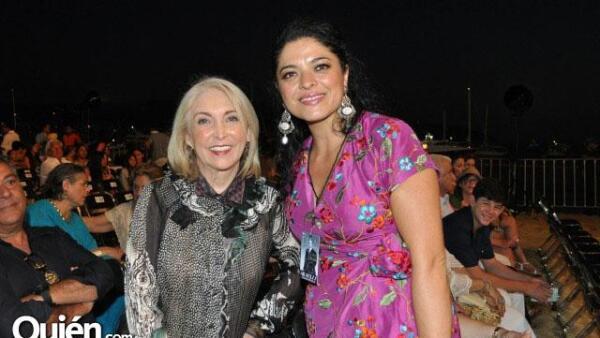 Lupita Molina y Alejandra Frausto.