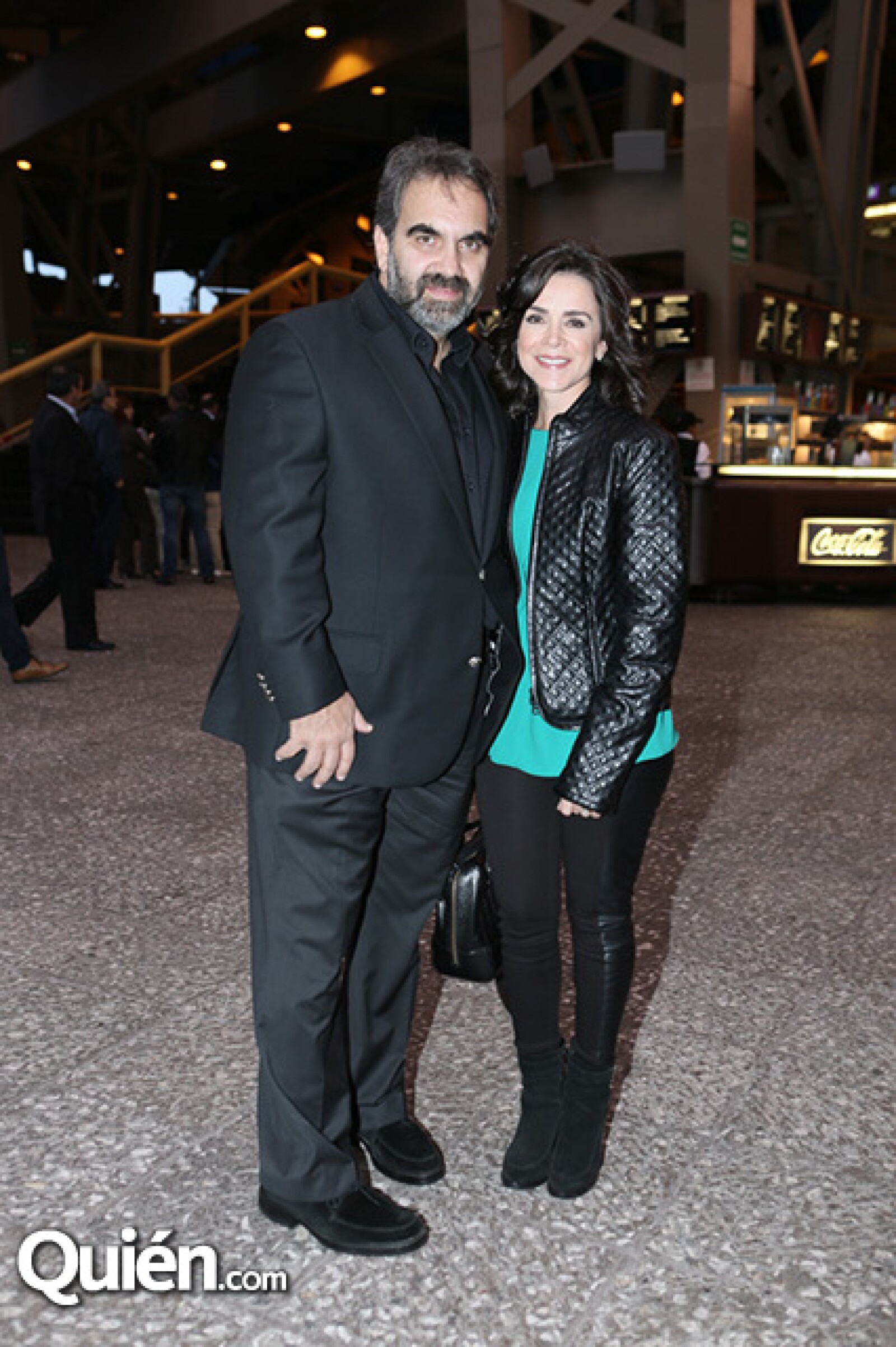 Luis Mijares y Gabriela Calzada