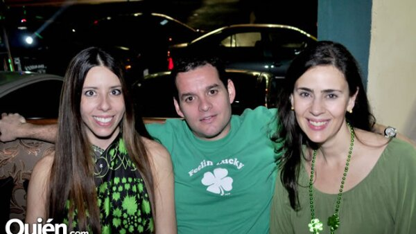 Caroline Ferrari, Christian Elizondo y Silvana