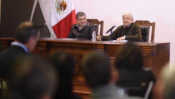AMLO en Coahuila