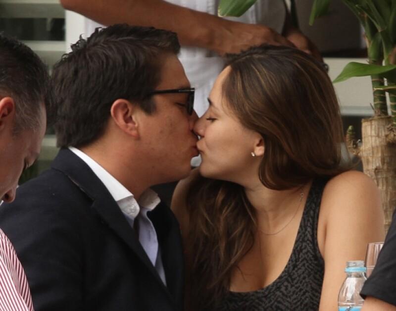 Sherlyn y Gerardo llevan siete meses juntos.