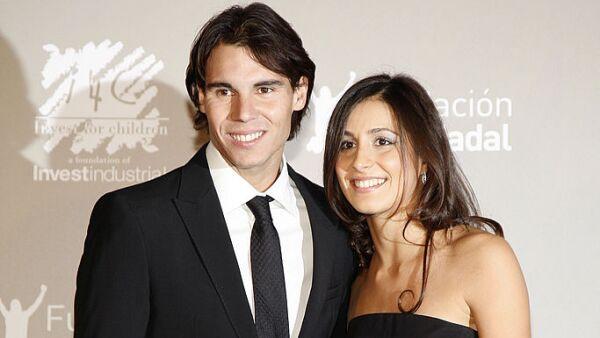 Rafael Nadal y Xisca Perelló
