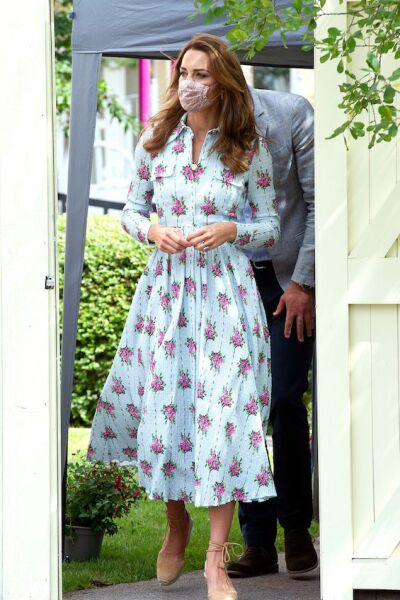 Prince William and Duchess of Cambridge visit to Shire Hall Care Home, Cardiff, South Wales, UK  - 05 Aug 2020
